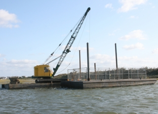 NS-45 ft Sectional Barge