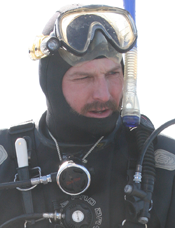 Ian Farrow : Diver/Special Marine Projects
